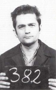 عکس پرونده حسین یزدی در مدارک زندان آلمان شرقی